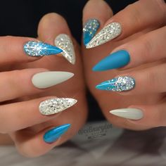 """POINTY NAILS - """"Hell yay bring it on!"""" Or """"nope not gonna happen!"""""""
