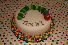 hungry caterpillar cake - Google Search