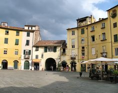 Lucca - cute little town outside of Pisa