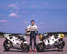 Freddie Spencer 1985 250cc & 500cc World Champion - Racing Cafe