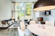 Spacious Home in Danderyd by Franson Wreland Architects | HomeDSGN, a daily source for inspiration and fresh ideas on interior design and home decoration.
