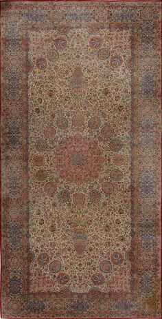 Matt Camron Rugs & Tapestries Antique Persian Kerman Rug