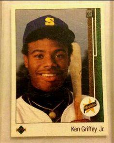 Ken Griffey Jr. Upper Deck Rookie Card