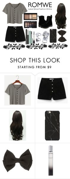 """Untitled #536"" by rasberry893 ❤ liked on Polyvore featuring MANGO, Miss Selfridge, NYX and Gucci"