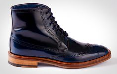Blue Bossman Boot from BOGA, via @ManualGuide http://www.themanual.com/fashion/tgif-shopping-boga/