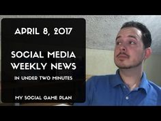ATTN: I've transitioned the Social Media Weekly News into a weekly email, because video takes way too much damn time. Advertising Tools, Top Social Media, Social Games, About Facebook, Locker, Budgeting, Platform, How To Plan, News
