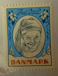 Danish Christmas Stamp 2012