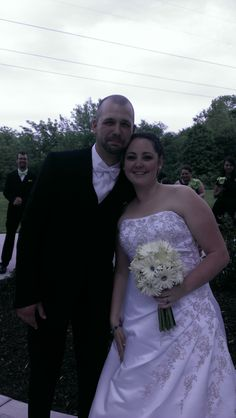 Chris and Ashlie were married at The Weingarten in Belleville, Il on may 24, 2014