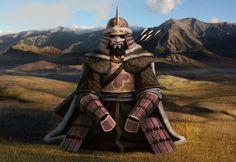 Yuki, Ancestral Armor of the Unicorn Clan (1600×1100)