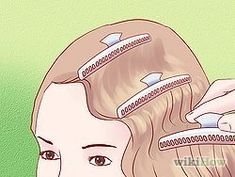 Style a 1930's Finger Wave Hairstyle Tutorial - step by step