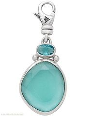 Glass, Sterling Silver Splash of Sass  Charm $54.00  click on picture to order today...www.silpada.com/coni.otto