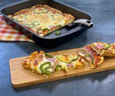 Εύκολη πίτσα | Συνταγή | Argiro.gr Finger Food Appetizers, Finger Foods, Appetizer Recipes, Food Categories, Avocado Salad, Tacos, Food And Drink, Pizza, Mexican