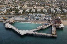 Redondo Beach Pier, Redondo Beach, California