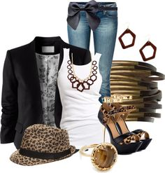 """""""Fedorable"""" by hope-houston ❤ liked on Polyvore"""