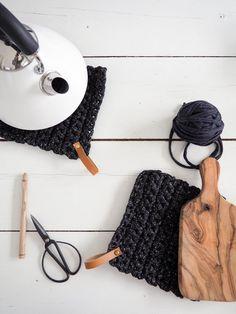 Patron gratuit DIY manique crochet XXL trapilho