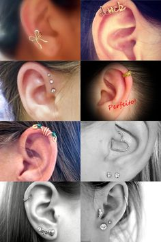 The Fairy Tale: Dica de Amiga: Piercings na orelha