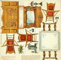 1000 images about muebles para armar en miniatura on for Muebles para armar en casa