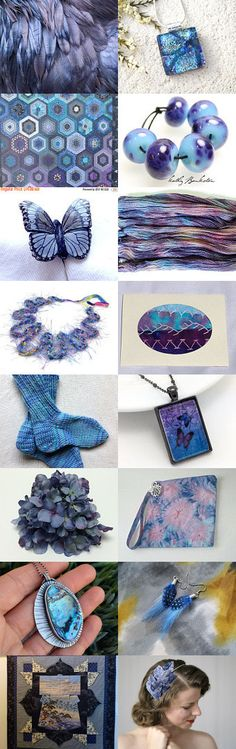 RAVEN FEATHERS by Sun in VIRGO on Etsy--Pinned with TreasuryPin.com
