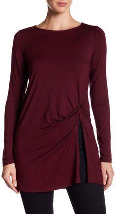 Karen Kane Long Sleeve Twist Tunic