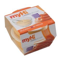 myHi Caramel Dessert
