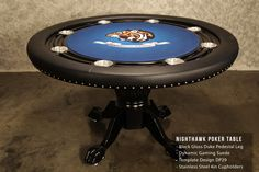 Unchain your creativity on your Nighthawk Poker Table by BBO Poker Tables. www.bbopokertables.com/NightHawk.html