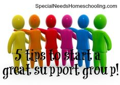 5 Tips to start a support group