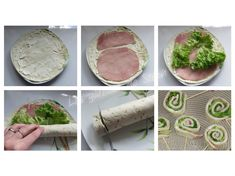 Sucettes de wrap jambon saint morêt - Recettes faciles - Les gâteaux de Stéph