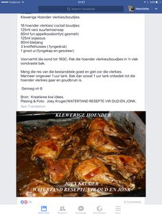 Sticky Chicken – About Healthy Meals South African Dishes, South African Recipes, Best Chicken Recipes, Chicken Salad Recipes, Recipe Chicken, Braai Recipes, Cooking Recipes, Coke Chicken, Sticky Chicken