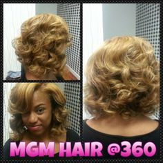 CURLS FOR THE GIRLS BY MELISSA MCDONALD AT 360 DEGREES HAIR STUDIO
