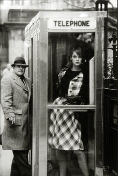 Kids, when Daddy was young he had to use what's called a telephone booth to call his best girl. If I was lucky, she was waiting in the booth for me-thus saving time and money.