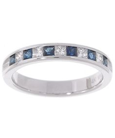 I would like to have sapphire on my wedding ring