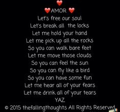 Amor   The Falling Thoughts