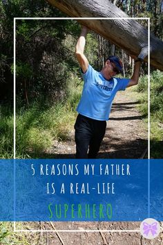 5 Reasons My Father is a Real-Life Superhero -- Preppy & Periwinkle