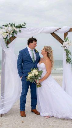 Beach Wedding Hair, Dream Wedding, Beach Weddings, Beach Photography, Wedding Photography, Beach Ceremony, Wedding Flowers, Wedding Dresses, Epic Art
