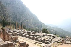Oracle at Delphi, Greece. Fortunate enough to visit here.