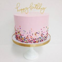 Sprinkle Me Pink - Stunning Cakes That Definitely Did Not Come From A Box - Photos cake decorating recipes kuchen kindergeburtstag cakes ideas Cute Cakes, Pretty Cakes, Beautiful Cakes, Amazing Cakes, Girly Cakes, Bolo Cake, Celebration Cakes, Cakes And More, Birthday Parties