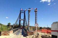 Route pour Majunga, le nouveau Pont de la Kamoro opérationnel. Après plus de deux ans de travaux, le nouveau pont de la Kamoro est à double voie.