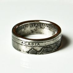 Acadia National Park Coin Ring