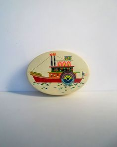 Italian Decorative Tin - Motta
