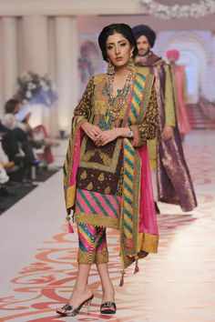 Adnan Pardesy Telenor Bridal Couture Week 2015
