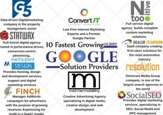 The Fastest Growing Google Solutions Providers