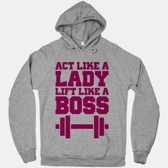 Lift like a boss.