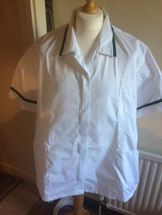 78a589f394d Womans Nurses Tunic Healthcare Medical NHS Uniform Alexandra H152W Size 8  for sale online | eBay