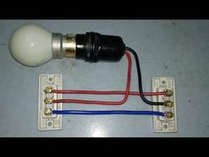 Basic Electrical Wiring, Electrical Circuit Diagram, Electrical Projects, Engineering Tools, Electronic Engineering, Electrical Engineering, Metal Art Projects, Diy Home Decor Projects, Diy Electronics