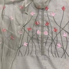 Your place to buy and sell all things handmade Salwar Kameez, Kurti, Suits For Women, Clothes For Women, Suit Fabric, Thread Work, Chiffon Shirt, Punjabi Suits, Party Wear
