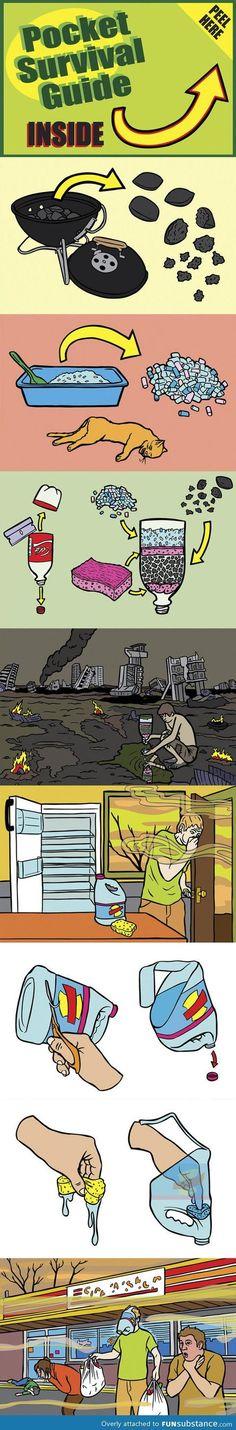 Pocket survival guide