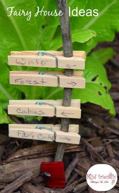 Over 15 Fairy Garden Ideas for Kids - DIY Miniature Fairy Garden Ideas - www. About Over 15 Fairy Garden Ideas for Kids in the G