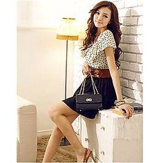 Coco Zhang damska BODYCON szyfonu suknia – USD $ 8.99