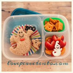 Love Peace Bento: Halloween Lunches - Part 2! The Fun Continues