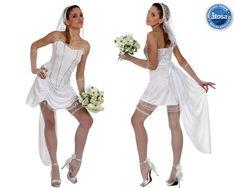 deguisement fin de vie celibataire-Deguisement-Robe de Marié Sexy Halloween, Marie, White Dress, Ballet Skirt, Costumes, Wedding Dresses, Skirts, Fashion, Costume